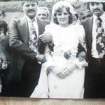η νύφη με τα αδέρφια της